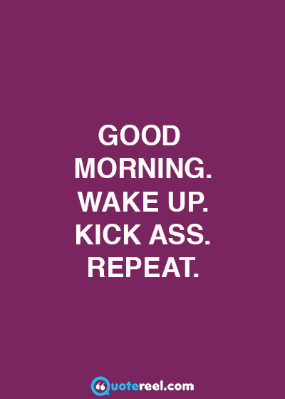 Funny good morning message