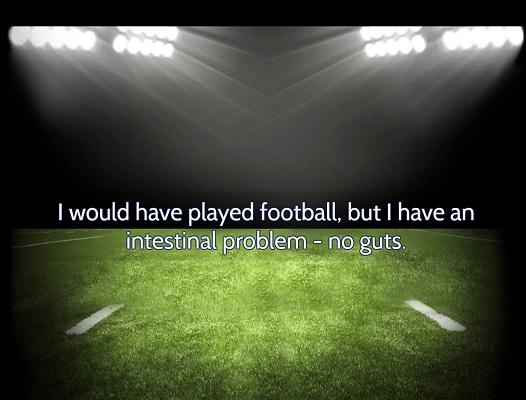 american football joke