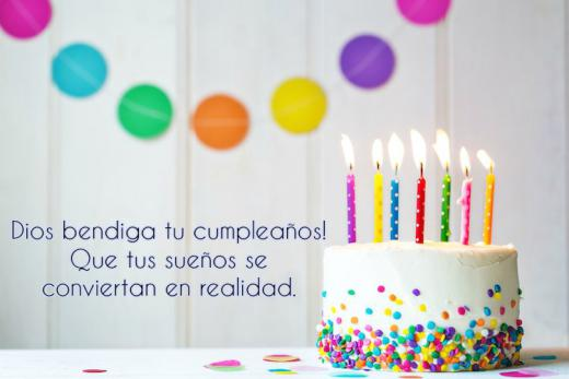 Happy Birthday In Spanish.Birthday Wishes In Spanish Images Text Wishes With