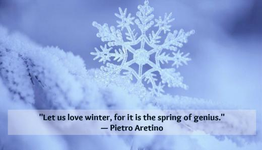 Snowflake Love Quotes Cool 10 Winter Quotes To Celebrate The Chilly Season