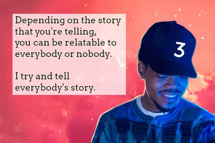 chance the rapper quotes text amp image quotes quotereel