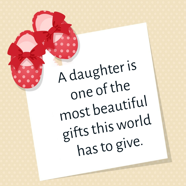 Baby Girl Quotes | Text & Image Quotes | QuoteReel