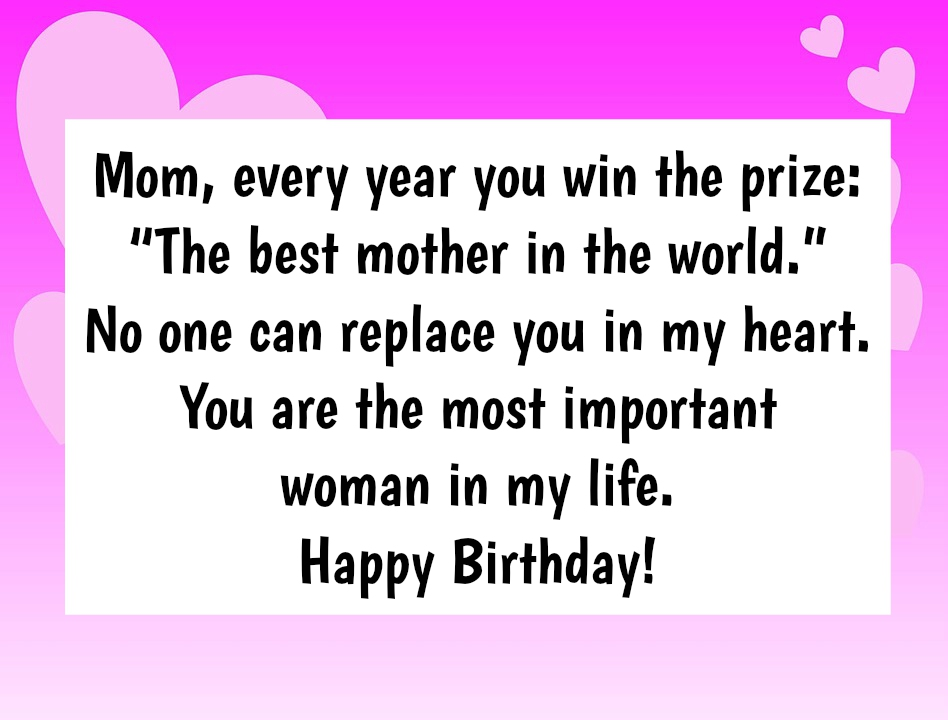 Mother Birthday Quotes | 10 Birthday Wishes For Mom That Will Make Her Smile
