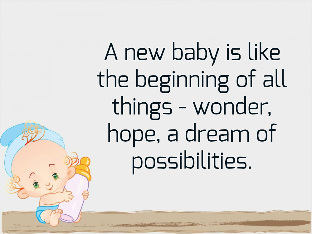 Newborn Baby Quotes Magnificent New Baby Quotes Text Image Quotes QuoteReel