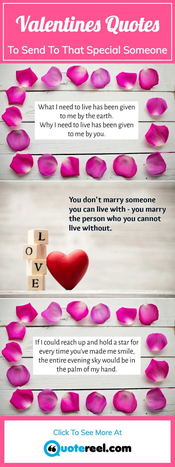 Valentines Quotes Pin