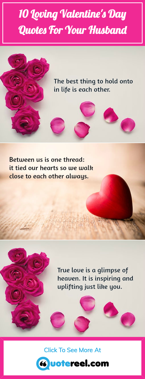 Love Quotes For A Husband Loving Valentine's Day Quotes For Husband  Quotereel