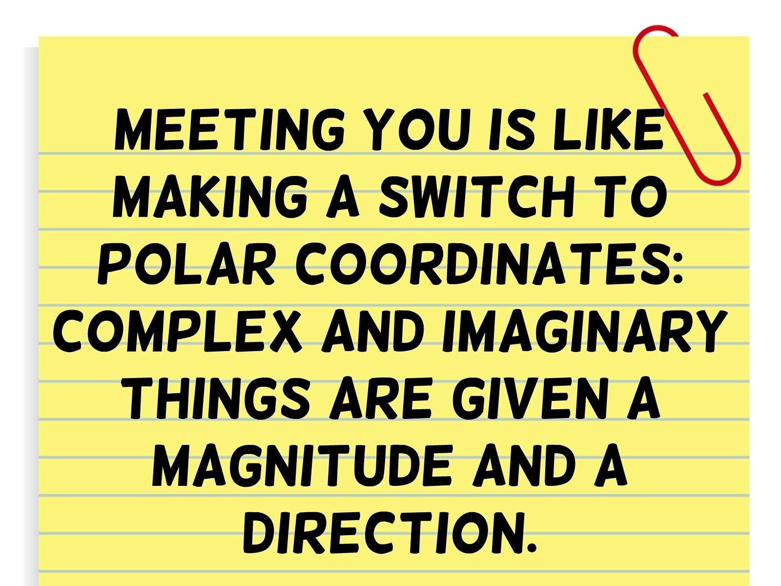 Math Pick Up Lines