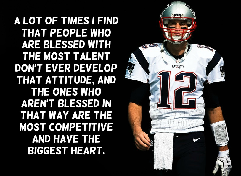Tom Brady Inspirational Quotes: Text & Image Quotes