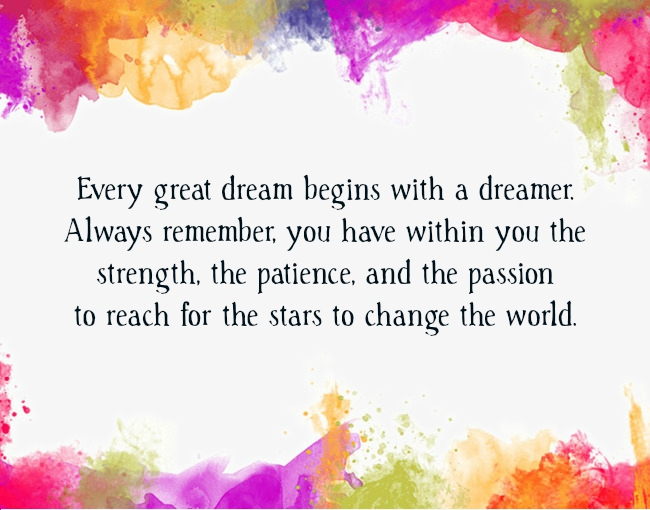 Dream Quotes Text Image Quotes QuoteReel New Dream Quotes