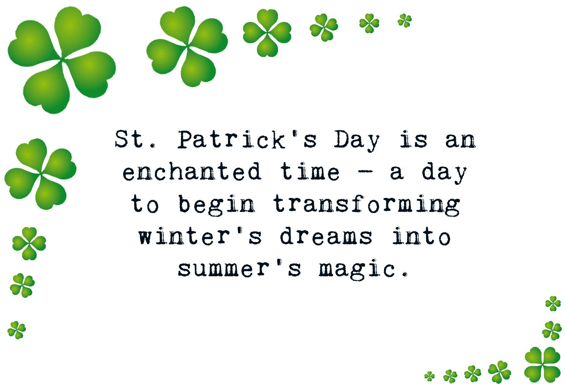 St patricks day saying
