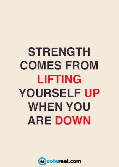 21 Quotes Cool 21 Quotes About Strength  Hand Picked Text & Image Quotes  Quotereel