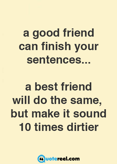 friend quotes funny