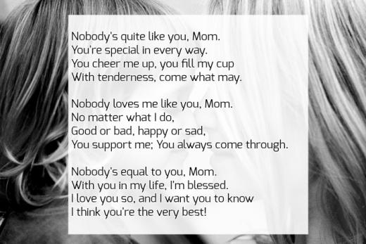Mother Daughter Poems To Cherish | Image & Text Quotes
