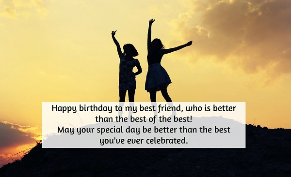 Birthday Wishes For Friends Happy To My Best