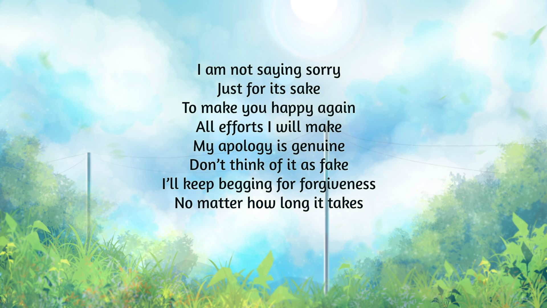 this is just to say poems of apology and forgiveness
