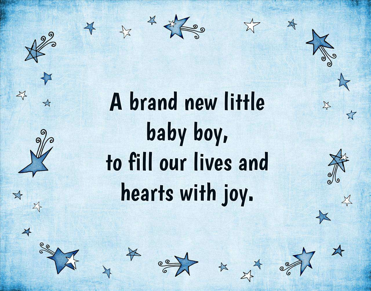 Baby Boy Quotes To Fill Your Heart With Joy Text Image Quotes