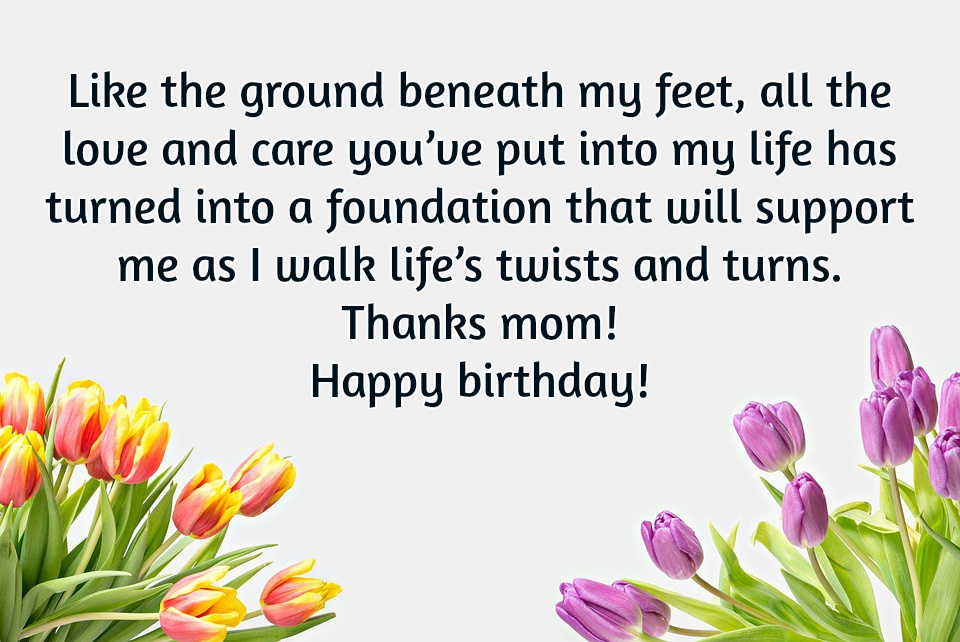 10 Birthday Wishes For Mom That Will Make Her Smile
