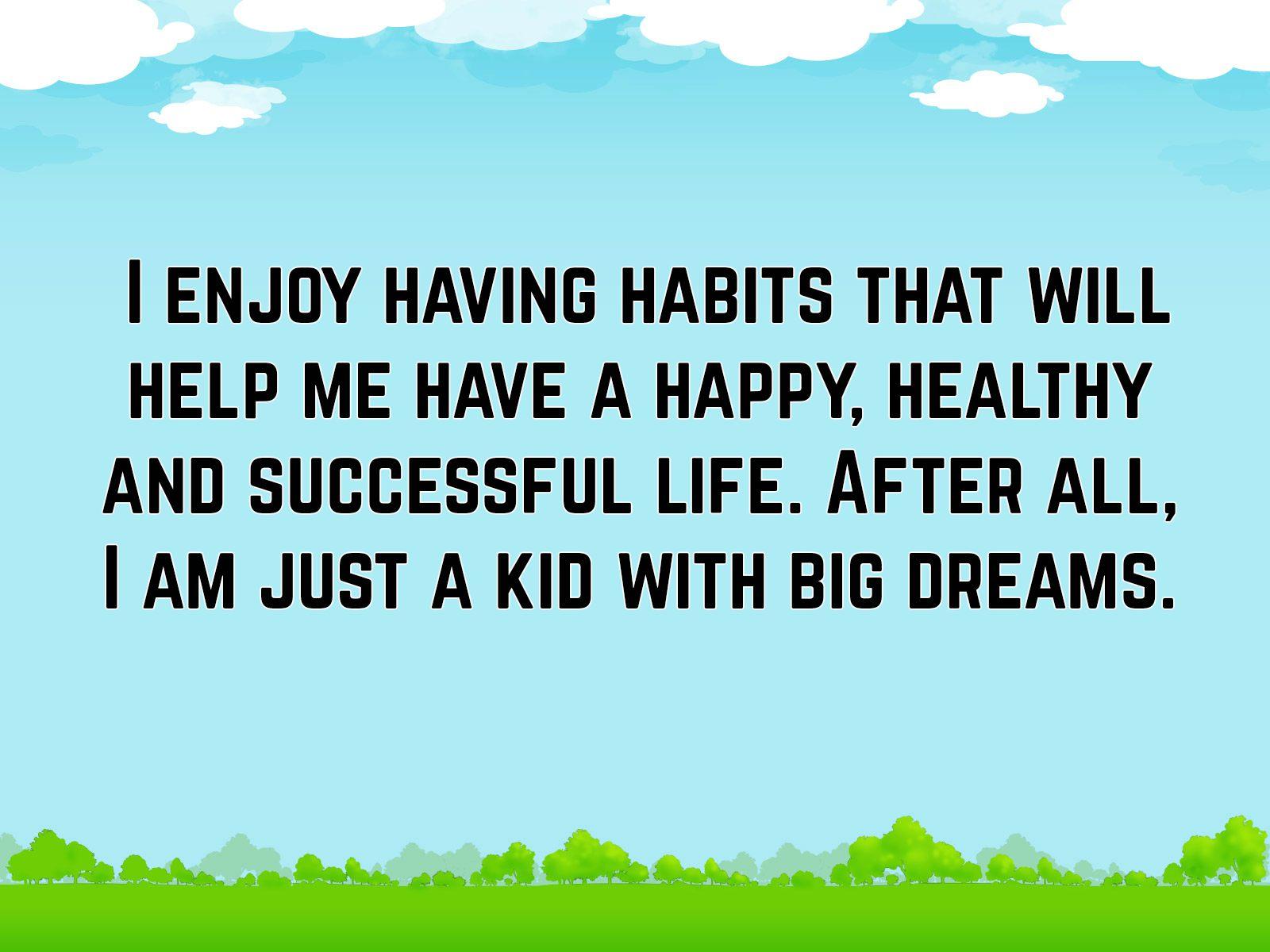 Affirmation for Kids