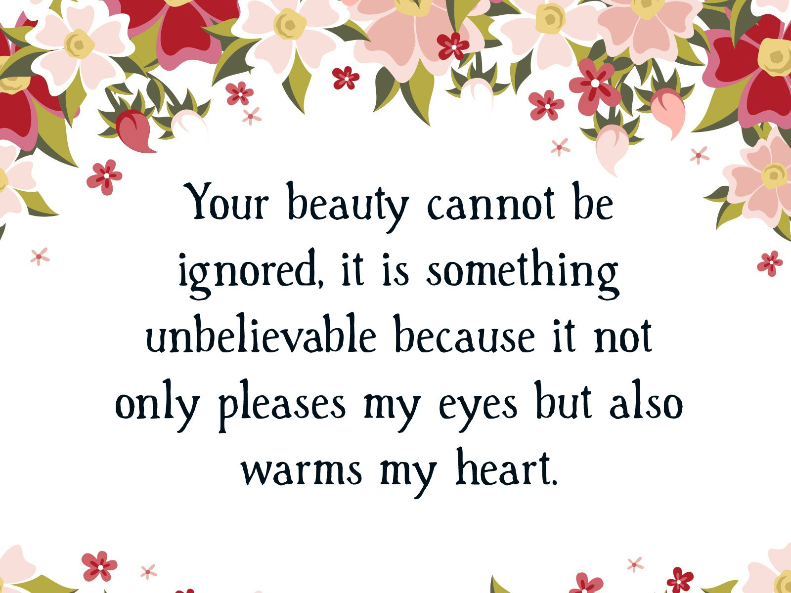Beautiful Compliments | Text & Image Quotes | QuoteReel