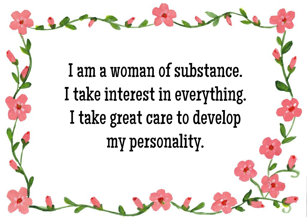 Positive Affirmation for Women