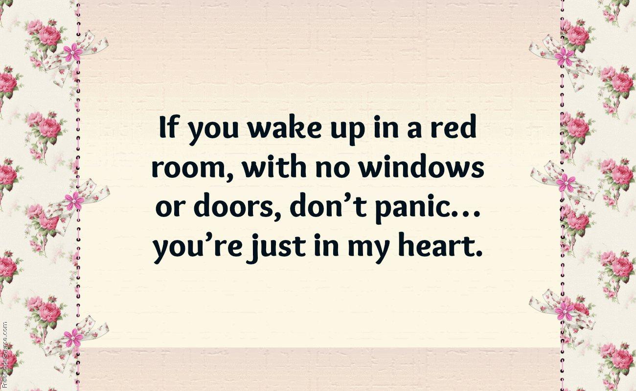 Romantic Pick Up Lines
