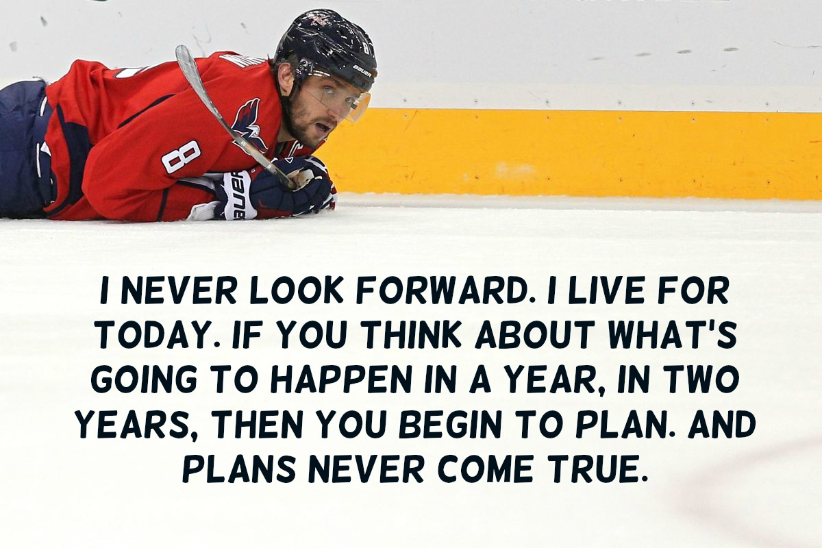 Alexander Ovechkin Quotes
