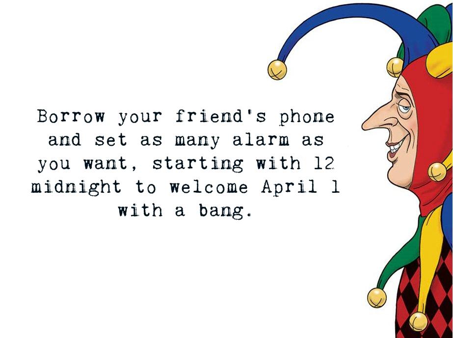 April Fools' Jokes