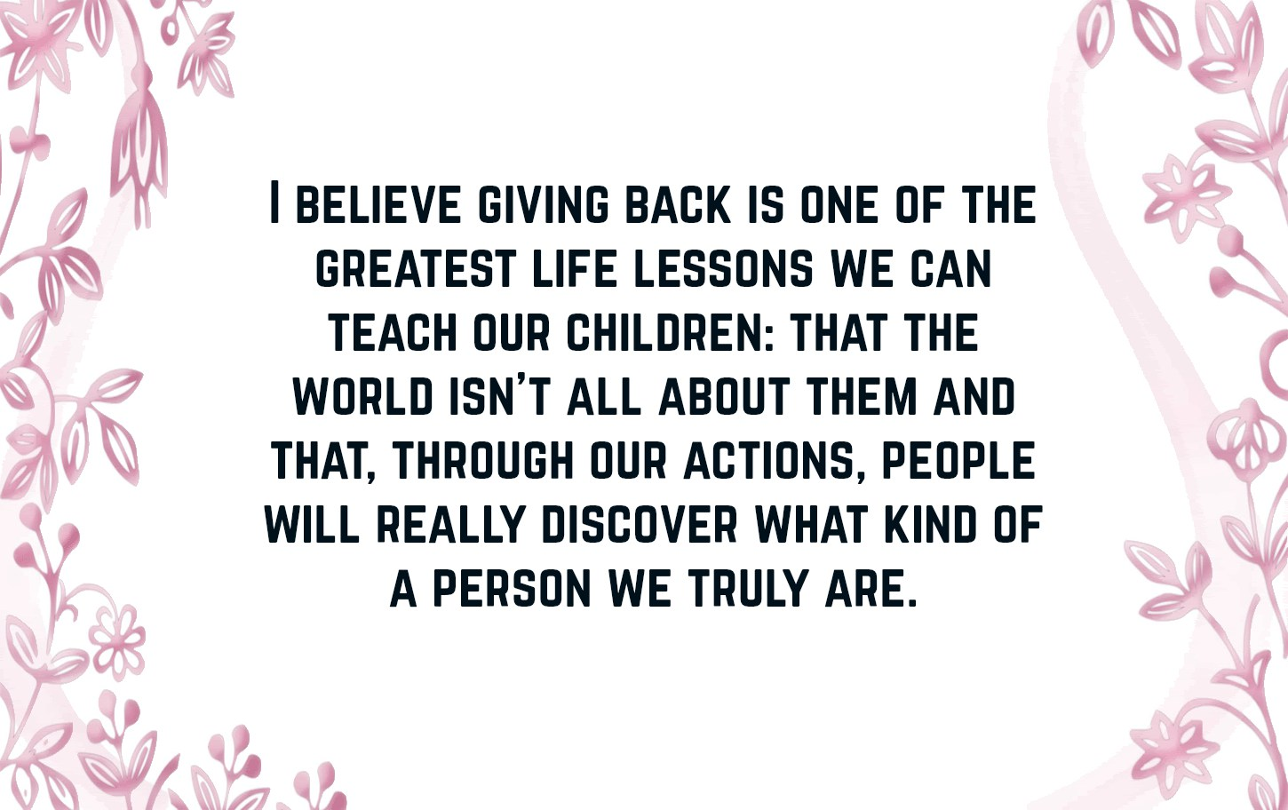 Giving Back Quotes