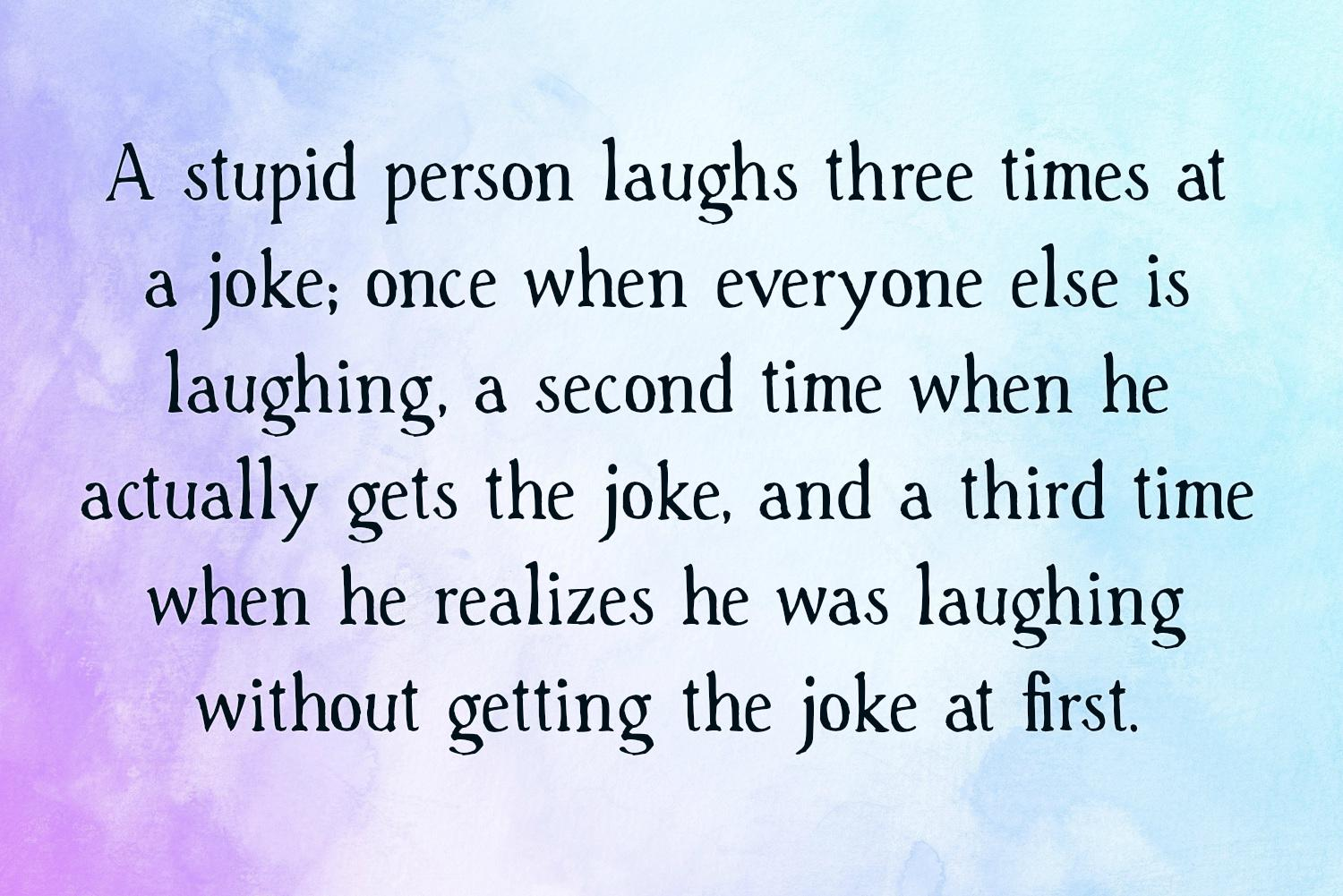 Stupid Quotes | Text & Image Quotes | QuoteReel