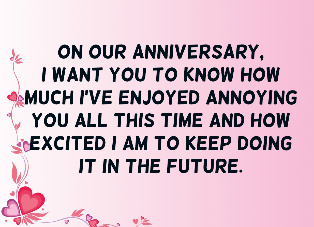 Funny Anniversary Quote 4 Quotereel
