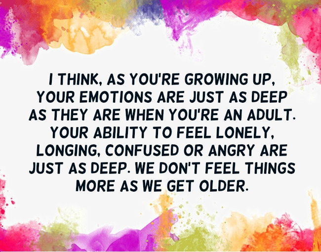 Growing Up Quotes Text Image Quotes Quotereel