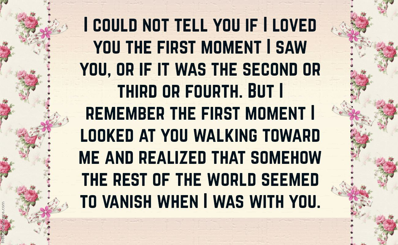 Love At First Sight Quotes Text Image Quotes Quotereel