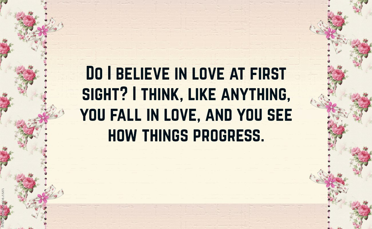 Love At First Sight Quote 8 Quotereel