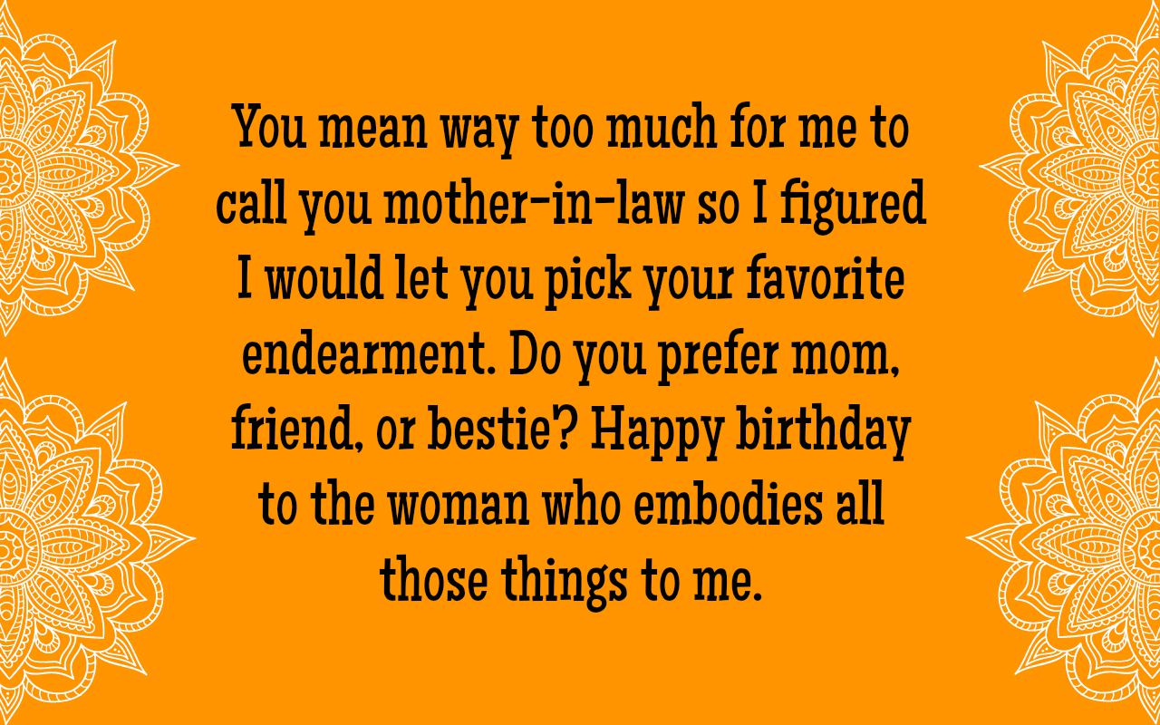 Mother in law birthday wishes text image quotes quotereel mother in law birthday wishes m4hsunfo