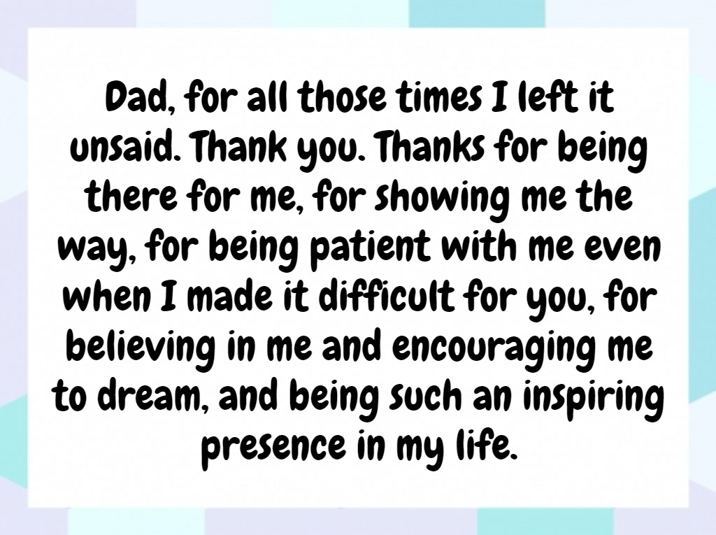 Quotes About Fathers Not Being There: Father's Day Quotes From Daughter