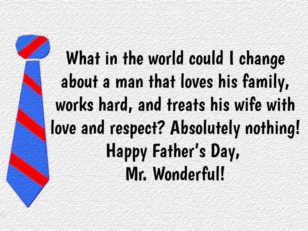 Father's Day Quotes From Wife   Text & Image Quotes ...