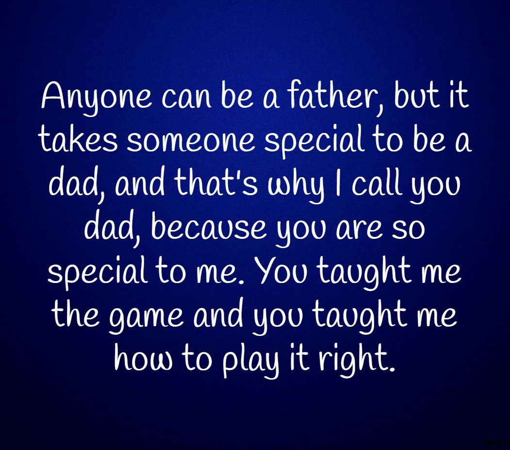 you are someone special to me