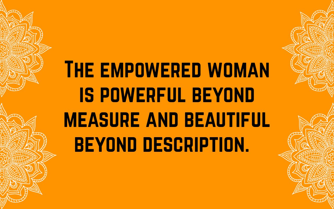 Women Empowerment Quotes | Text & Image Quotes | QuoteReel