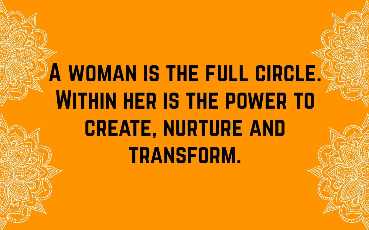 Women Empowerment Quotes Women Empowerment Quotes 6 | QuoteReel Women Empowerment Quotes