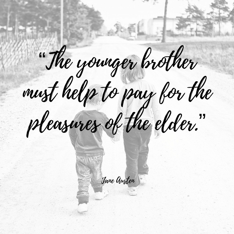 Best Quotes For Younger Brother: Little Brother Quotes From Big Sister