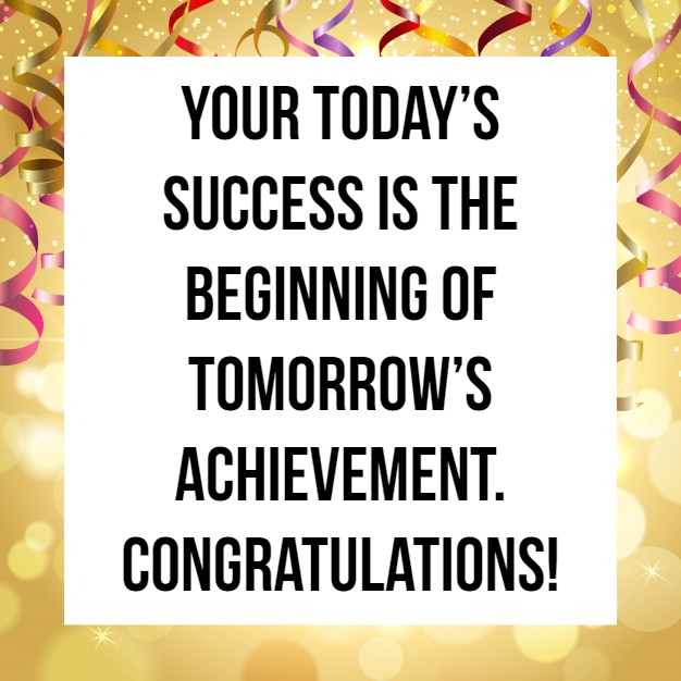 congratulations quote on achievement 6 quotereel