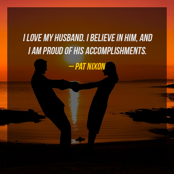 Proud Of My Husband Quotes 1 Quotereel