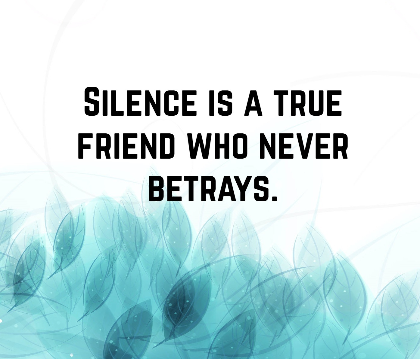 Silence Quotes 3 Quotereel