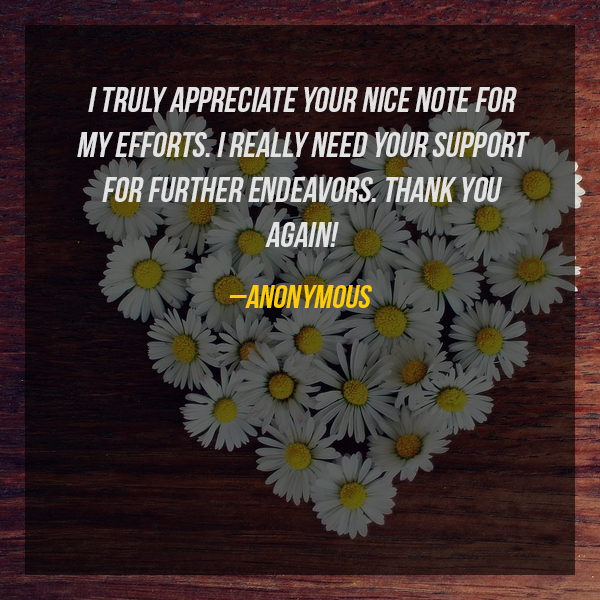Quotes About Thank You For Support: Thank You Messages Quotes 10