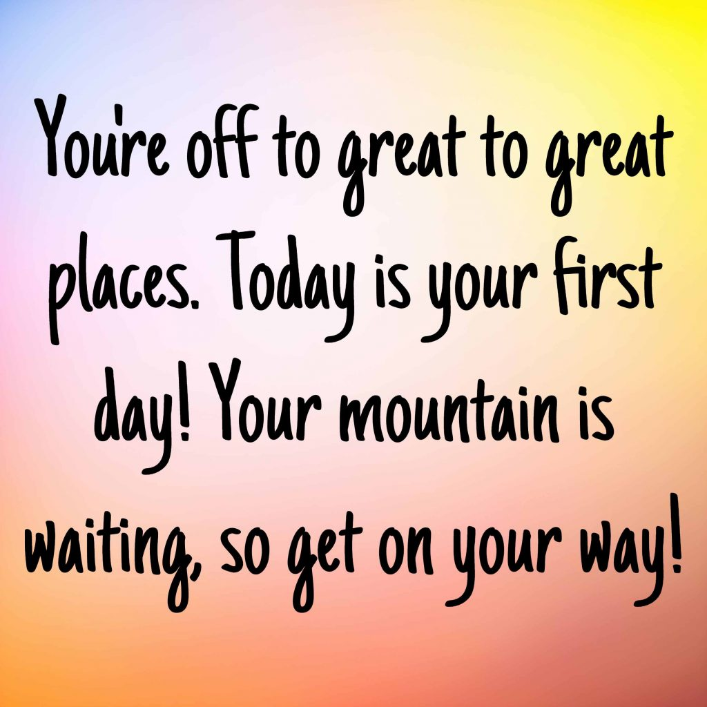 First Day Of Business Quotes: First Day Of School Quotes 7