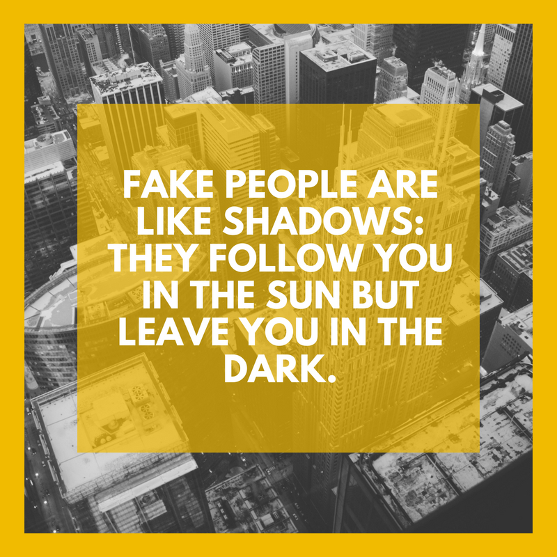 Fake People Quote 4 | QuoteReel