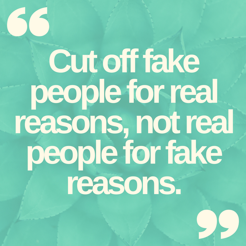 Fake People Quotes | Text & Image Quotes | QuoteReel