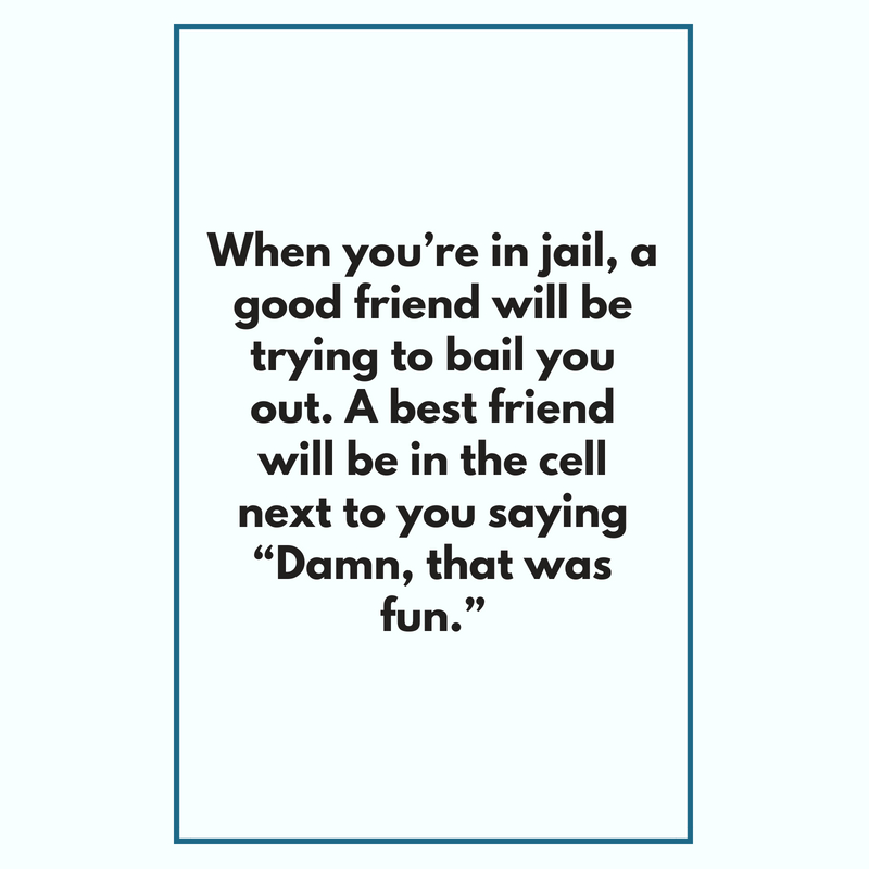 Weird Friend Quote 10 | QuoteReel