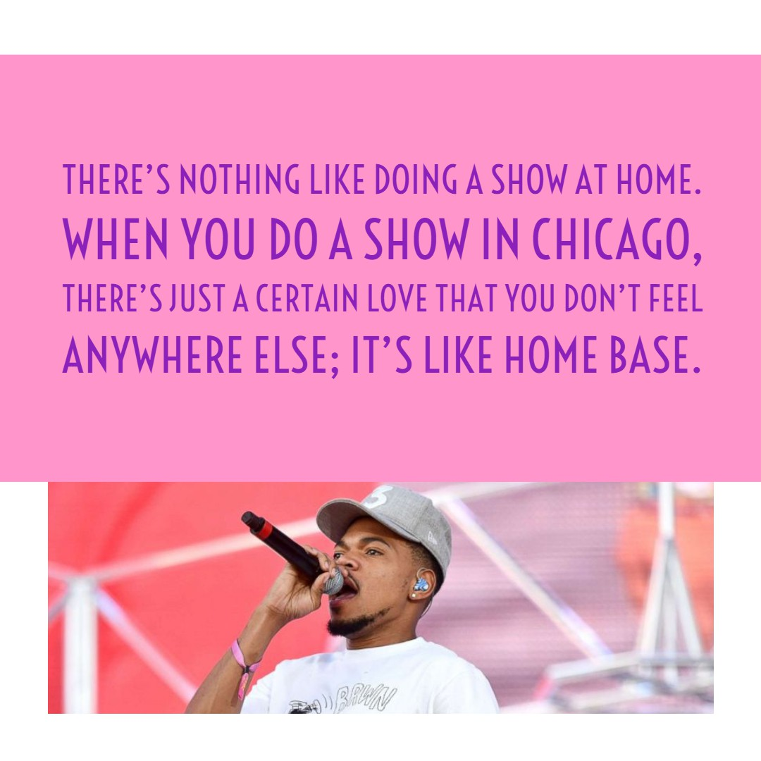 20+ Chance the Rapper Quotes | Text & Image Quotes | QuoteReel