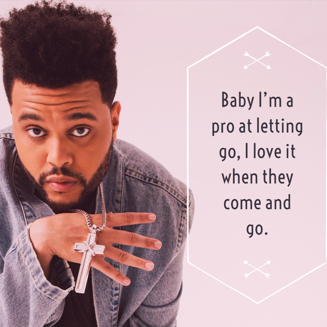 The Weeknd Quotes 2   QuoteReel